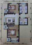 宸峰家园2室2厅1卫0平方米户型图