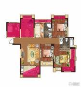 中大城4室2厅2卫119平方米户型图