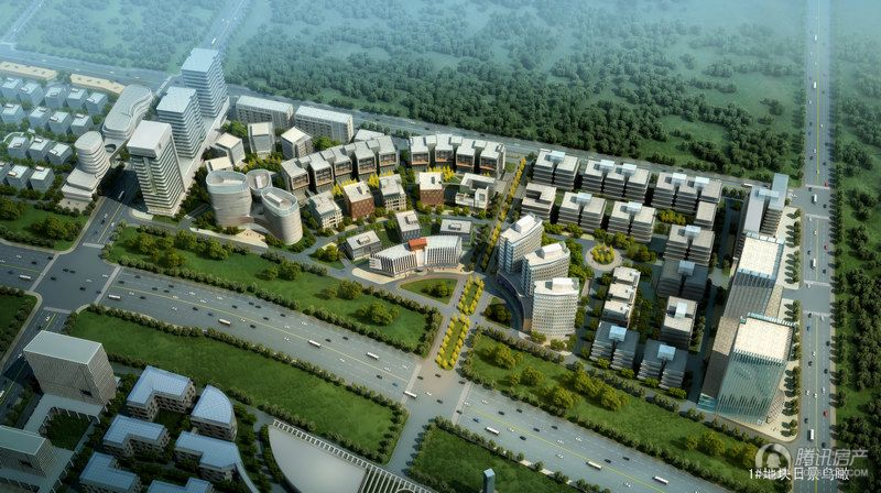 上庄创新产业园一期鸟瞰