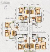 广晟圣淘沙60--87平方米户型图