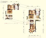北国奥林匹克花园2室2厅1卫95平方米户型图