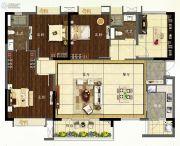 龙湖首开天宸原著4室2厅2卫140平方米户型图