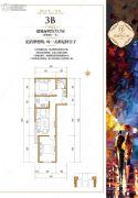 五龙湾・府东天地2室2厅1卫73平方米户型图