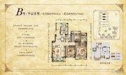 华宇锦绣花城113平方米户型图