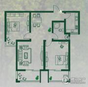 金屏苑2室2厅1卫100--140平方米户型图