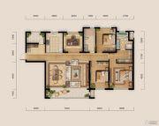远洋钻石湾・邦舍4室2厅2卫0平方米户型图