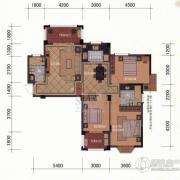 东方名城3室2厅2卫119平方米户型图