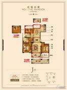 锦成・壹号公馆3室2厅2卫125平方米户型图