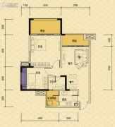 依城郡2室2厅1卫83平方米户型图