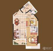 扬子・玉龙湾2室2厅2卫94平方米户型图