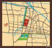 阳光城市・晶海园交通图