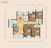 南方梅园4室2厅2卫198平方米户型图
