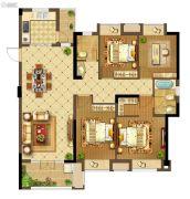 中建・状元府4室2厅2卫142平方米户型图