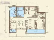 海伦堡・爱Me城市3室2厅2卫106平方米户型图