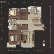 越秀星汇云锦3室2厅2卫168平方米户型图
