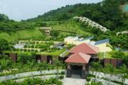 望谷温泉小镇外景图