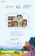 北京城建云熙台3室2厅2卫0平方米户型图