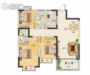 天章水岸国际・和园3室2厅2卫108平方米户型图