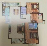 远达锦绣半岛3室2厅2卫162平方米户型图
